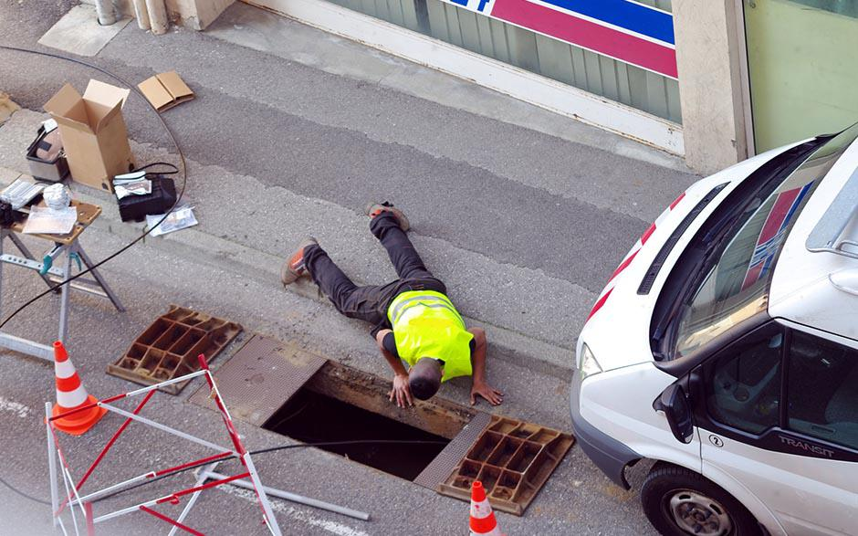 canalisation egout Levallois-Perret